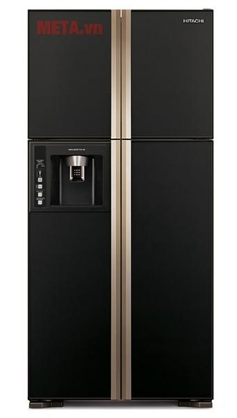 Tủ lạnh Hitachi 540 lít R-W660FPGV3X màu đen