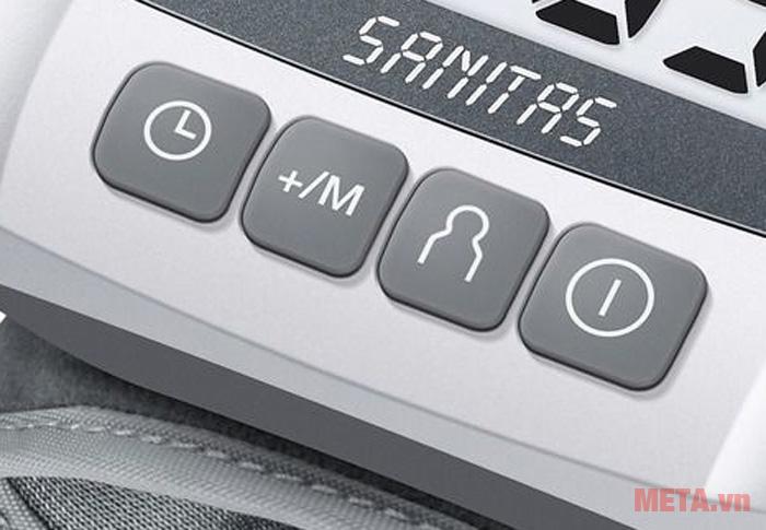 Sử dụng các nút để điều chỉnh