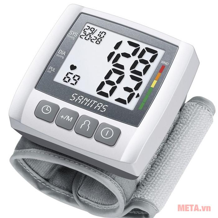 Hướng dẫn sử dụng máy đo huyết áp SANITAS SBC21