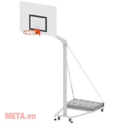 Trụ bóng rổ trường học Sodex Toseco S14629 dùng tập luyện bóng rổ.