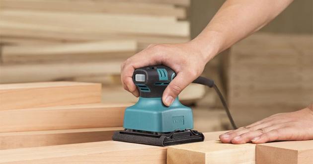 Máy chà nhám giúp công việc chà nhám gỗ, tường hiệu quả