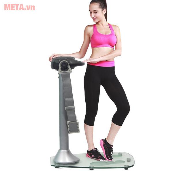 Máy rung bụng giúp giảm eo nhanh chóng