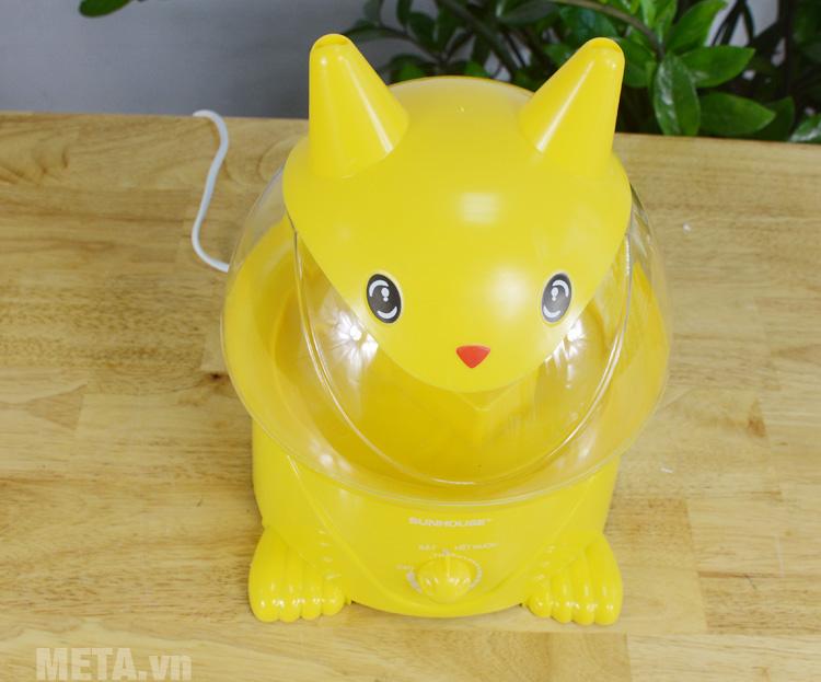 Máy tạo độ ẩm hình Pikachu