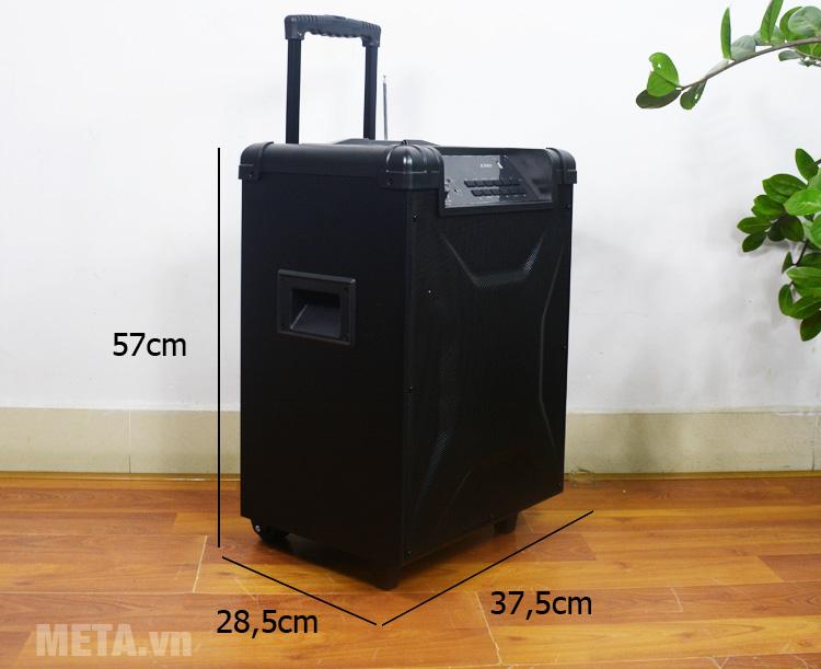 Fenda T2 thiết kế như vali kéo