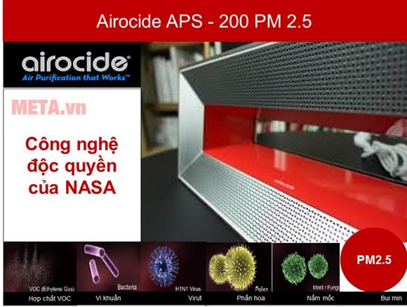 Máy làm sạch không khí Airocide APS-200 PM2.5