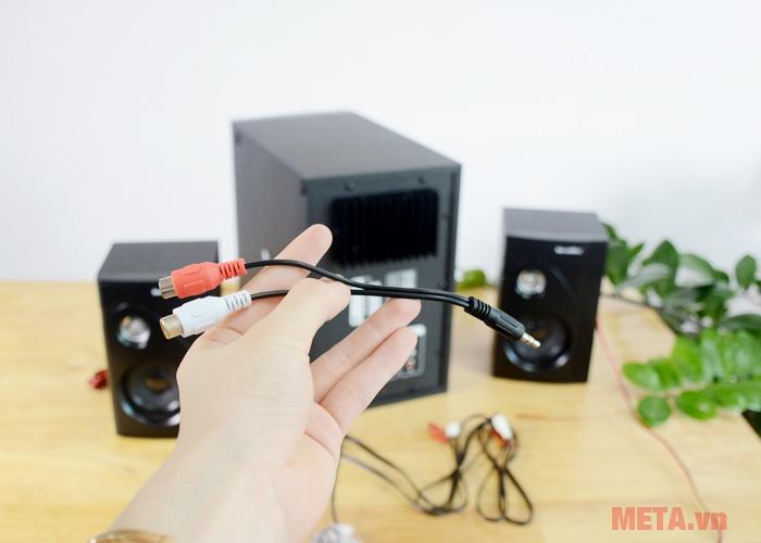 Jack cắm 3.5mm kết nối với các thiết bị điện tử