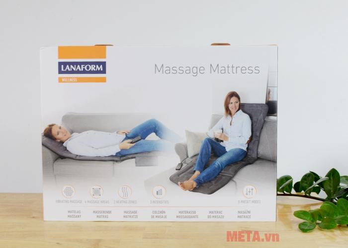Hộp đựng đệm massage toàn thân Lanaform LA110315