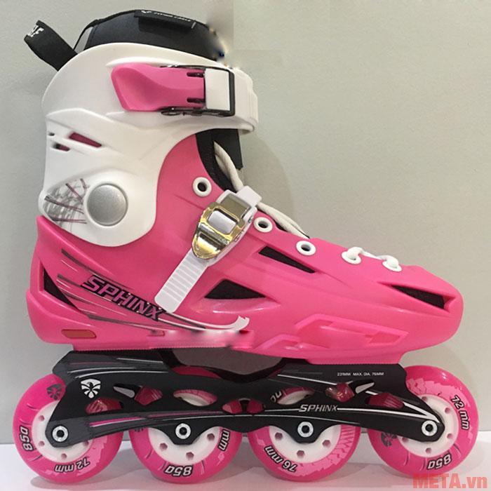 Giày patin Flying Eagle F2S màu hồng cho các bạn nữ