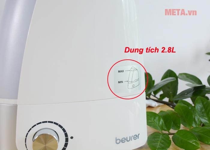 Máy tạo độ ẩm không khí Beurer LB44 có dung tích 2,8L
