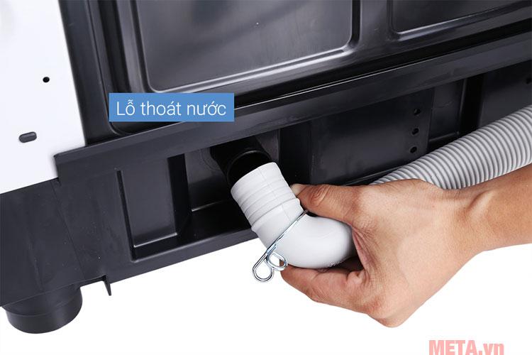 Máy giặt có ống cấp thoát nước