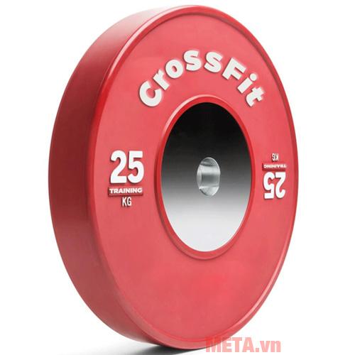 Tạ đĩa Crossfit màu đỏ