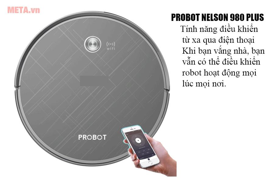 Robot hút bụi lau nhà Probot Nelson 980 Plus