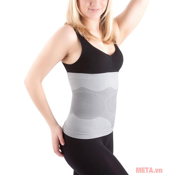 Massage vùng mông, bụng