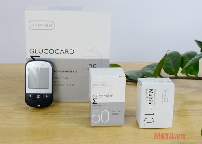 Hộp đựng máy đo đường huyết và các phụ kiện