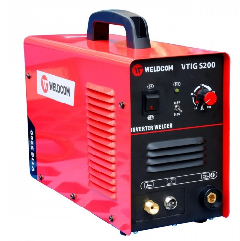 Máy hàn TIG Weldcom VTIG S200 có hiệu suất làm việc 85%.