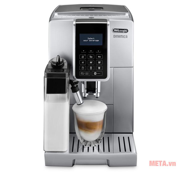 Mặt trước của máy pha cà phê Delonghi