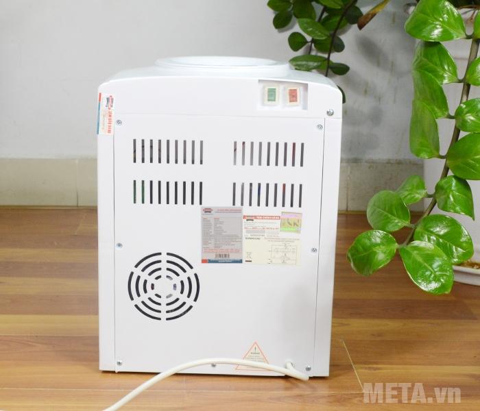 Cây nước nóng lạnh Sunhouse SHD9601 có dung tích lạnh 0.8L