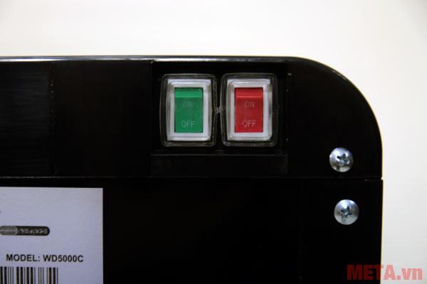 Công tắc nước nóng lạnh được thiết kế riêng biệt