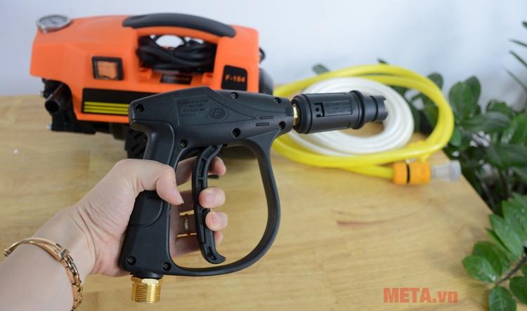 Máy rửa xe mini thiết kế súng ngắn