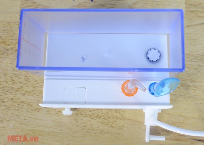 Trọn bộ máy tăm nước du lịch Maxcare Max 456 mini.