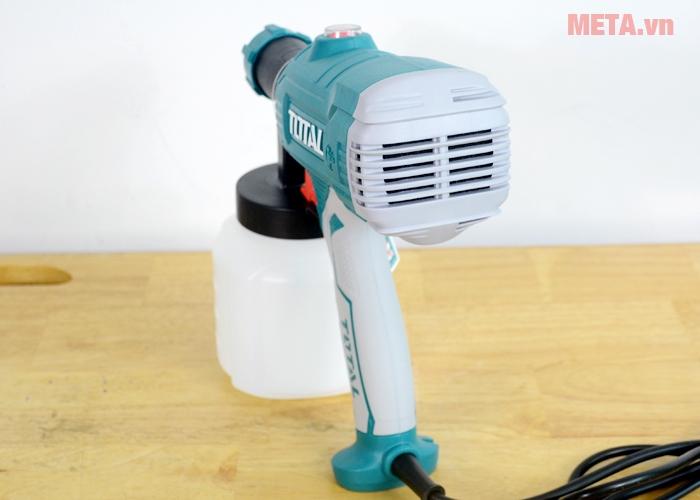 Tay cầm máy phun sơn Total TT3506 bằng cao su chống trơn trượt