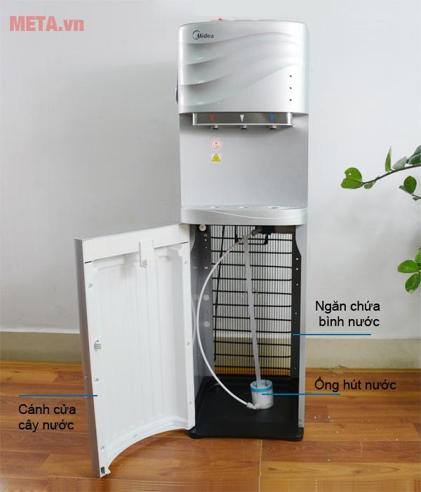 Cây nước nóng lạnh cao cấp Midea YL1634S có khóa vòi rót nước nóng