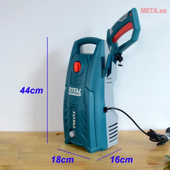 Kích thước máy phun xịt rửa áp lực cao Total TGT1131