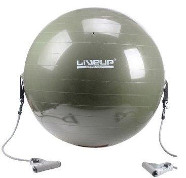 Bóng tập gym có dây kéo LS3227