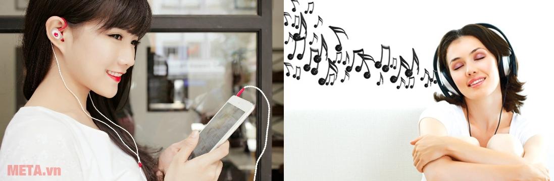 Khắc phục tai nghe/headphone bị rè, không rõ lời như thế nào?