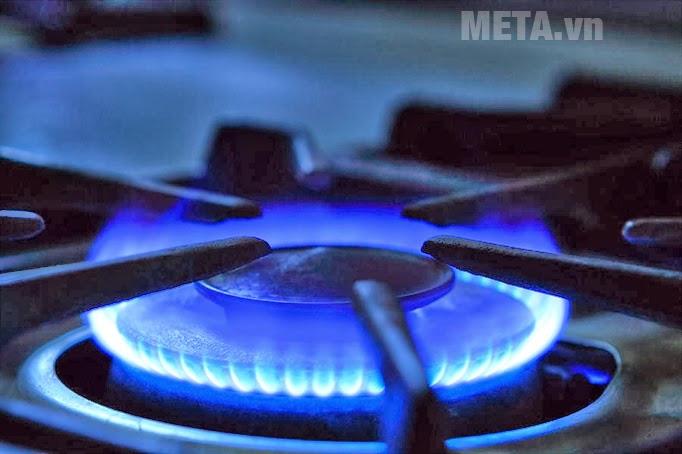 Kiểm tra kĩ bếp và lửa ga phải xanh và đều
