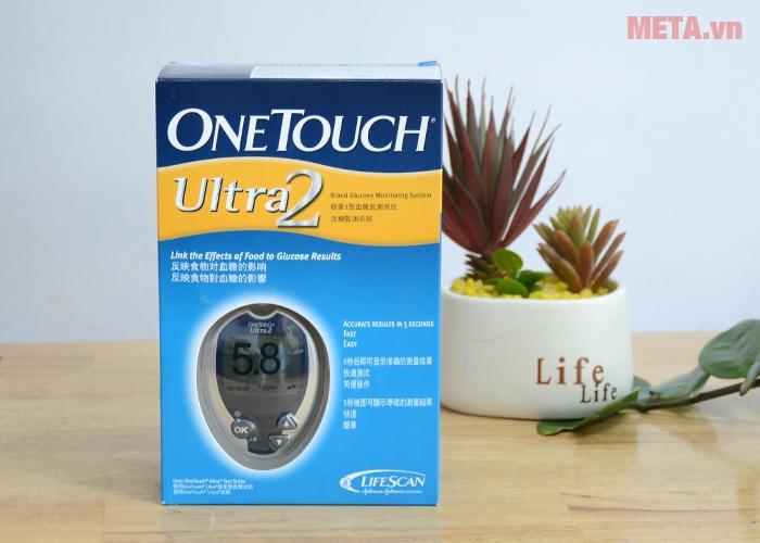 Hộp đựng máy đo đường huyết OneTouch Ultra 2