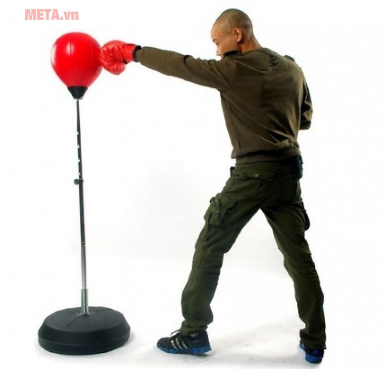 Luyện tập với bóng boxing