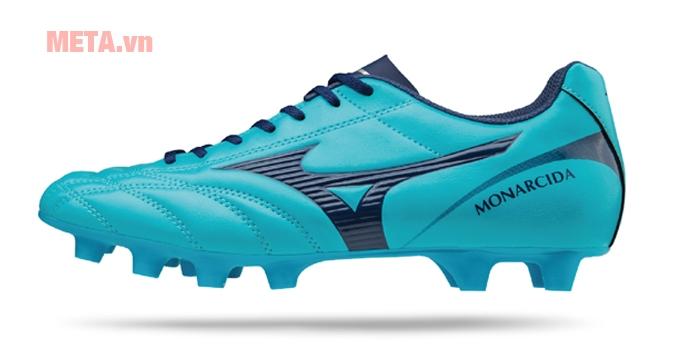 Giầy đá bóng Mizuno MONARCIDA 2 FS MD màu xanh