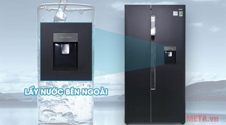 Tủ lạnh Inverter Aqua AQR-I565AS (557 lít)