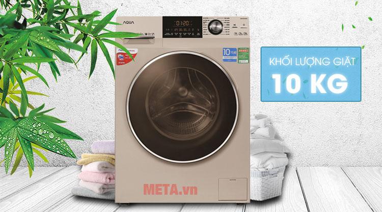 Inverter Aqua AQD-DD1000A khối lượng giặt 10kg