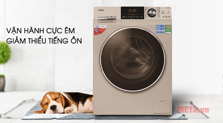 Máy giặt cửa trước Inverter êm ái bất ngờ