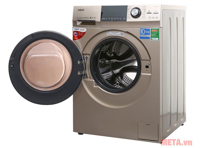 Máy giặt cửa trước Aqua 8.5kg AQD-DD850A