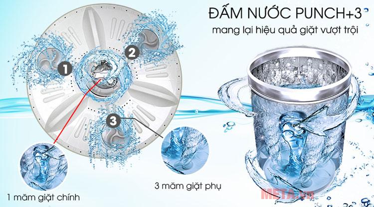 Công nghệ đấm nước Punch+3