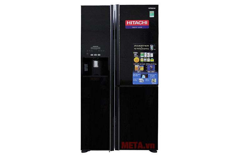 Tủ lạnh side by side Inverter Hitachi M700GPGV2 584 lít