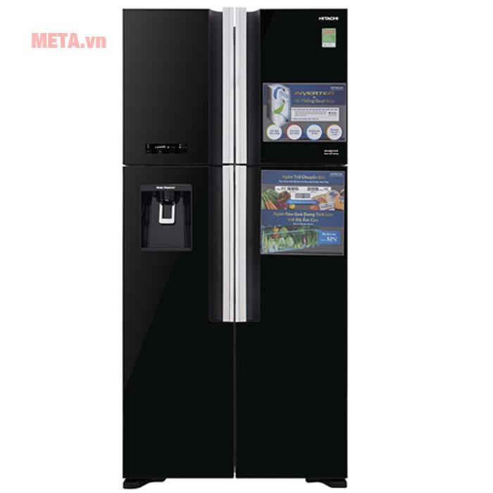 Tủ lạnh thiết kế màu đen sang trọng tôn lên không gian nhà bạn