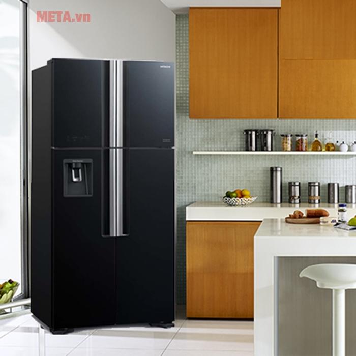 Tủ lạnh tôn lên không gian sang trọng