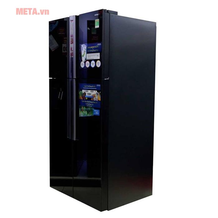 Tủ lạnh sang trọng với mặt gương sáng bóng cao cấp