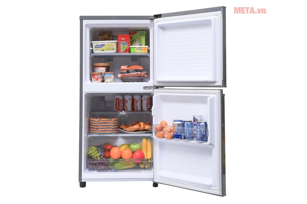 Chọn mua tủ lạnh có dung tích nhỏ mà vẫn đảm bảo được độ lạnh