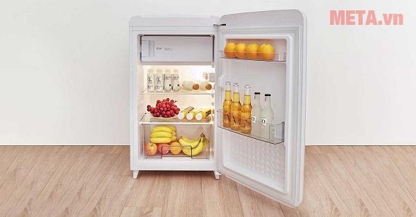 Chọn mua tủ lạnh nhỏ, ít diện tích và dễ di chuyển