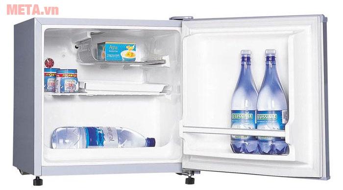 Điểm hạn chế của tủ lạnh mini là ở sức chứa của thiết bị
