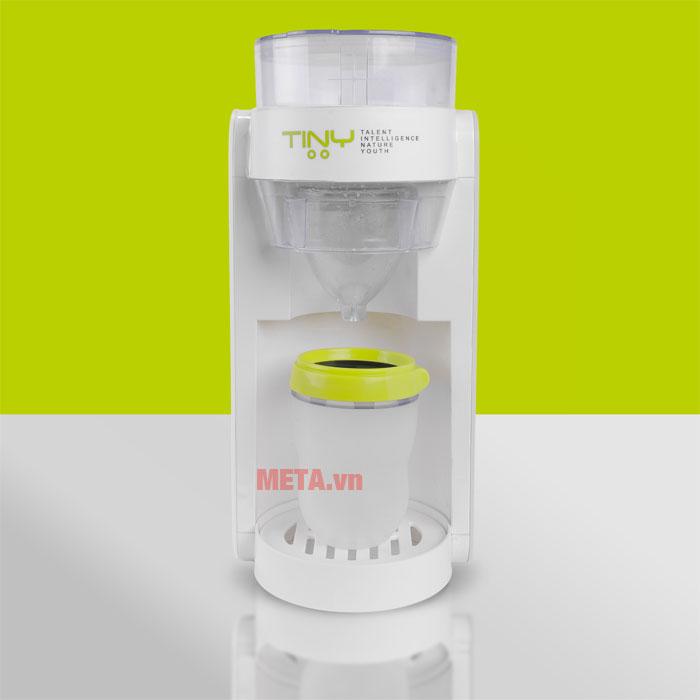 Máy pha sữa dễ dàng lắp đặt và sử dụng