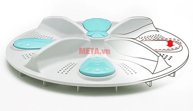Máy giặt lồng đứng Hitachi có cánh nâng Active Beat