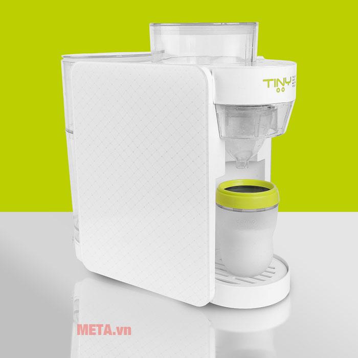 Máy pha sữa có thể điều chỉnh nhiệt độ phù hợp.