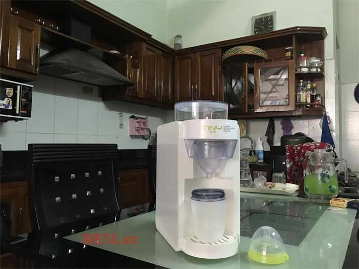 Hình ảnh máy pha sữa thực tế