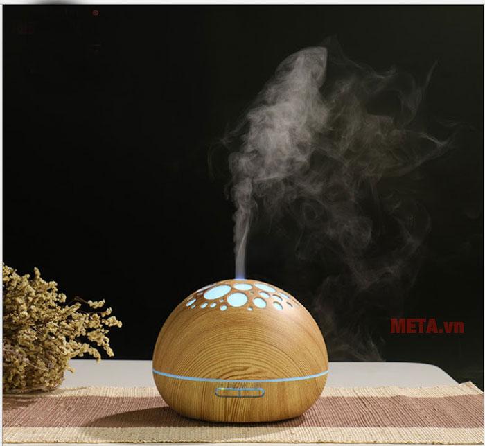Máy khuếch tán tinh dầu lỗ NT030 màu vàng